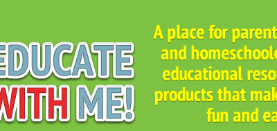 Looking for more fun educational resources? Introducing EducateWithMe!